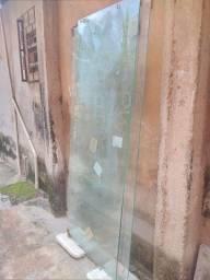 Porta de vidro 300 reais cada de correr