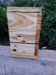 Caixa para abelhas sem ferrao. Modelo inpa