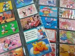 Cards Moranguinho ou Disney