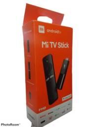 Xiaomi Mi Tv Stick Mdz-24-aa De Voz Full Hd 8gb Preto Com 1gb De Memória