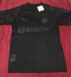 Camisa Borussia Dortmund All Black edição especial 110 anos