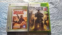 Jogos Xbox 360, Gears of War 3 e Rainbowsix 2