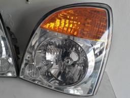 Farol LE Hyundai HR 2007 a 2013 Cromado Original