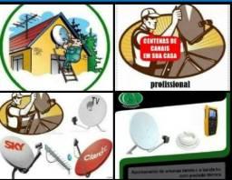 Antenista Profissional Instalador de Antenas Particular