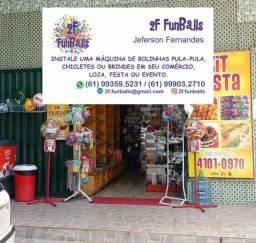 2F FunBalls >>> Renda Extra => PARA -> SUA -> LOJA ou Ponto Comercial.