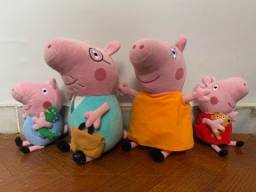FAMÍLIA PEPPA PIG ORIGINAL EM PERFEITO ESTADO