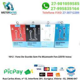 1012 - Fone De Ouvido Sem Fio Bluetooth Fon-2257D Inova