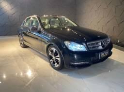 Mercedes C180 CGI CLASSIC, 2012/2012, Interior bege, impecável