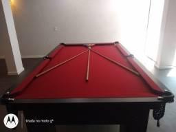 Mesa Charme Tecido Vermelho Redinha Mod. 550YM0ST