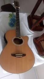 violão elétrico acústico Tagima Dallas-NA