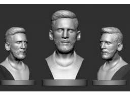 Busto Messi - 3D