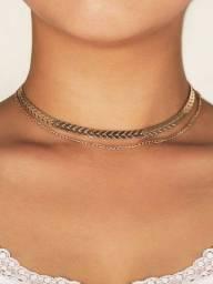 Gargantilha / necklace dourada