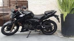 vendo minha moto nova APACHE RTR200 ano 2019 toda em dia