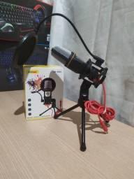 Microfone Condensador Andowl QY-K222