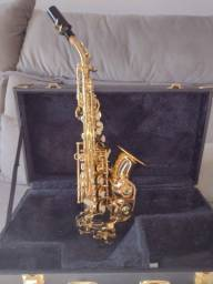 Sax Soprano Curvo Eagle Sp 508
