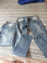 Bermudas e calças feminina tam 38,40 e 42