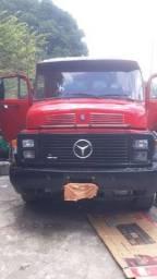 Caminhão Truck Reduzido, carroceria, Mercedes 1513
