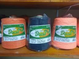 Barbante Soberano Eco Brasil Colorido Fios 6 E 8 700 gramas 1 Unidade