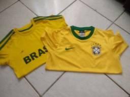 Lote blusa do Brasil Top