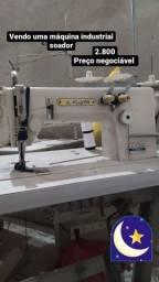Máquina de costura soador ombro a ombro