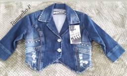 Jaqueta jeans Nova ótima para essa estação do ano