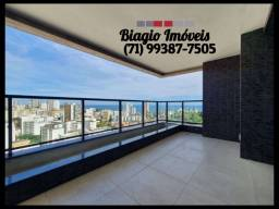 Barra Way Residence - 2 quartos - Varanda Gourmet - Vista mar - Último andar - 72m²