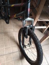 Perfeita CALOI - Bicicleta Aro 20 - Zero - Amortecedor - Câmbio (Bike)...