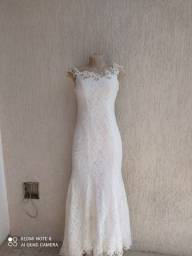 Vestido de casamento renda