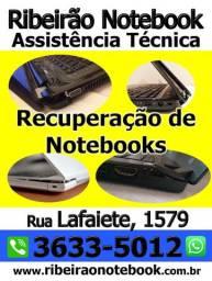 Reparo em Notebook / Recuperação / Limpeza Interna / Troca pasta térmica / Manutenção