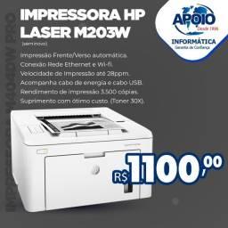 Vende-se Impressora Laser Mono M203W- semi-nova\ super econômica
