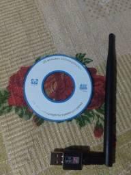Receptor wi-fi usb