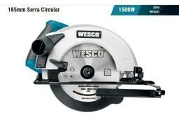 Serra circular 1500w Wesco profissional Ws3441