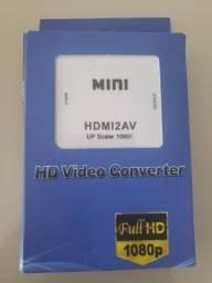 Conversor Adaptador Conversor De Hdmi Para Video Composto Rca 2av