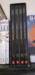 Box de GOT em quadrinhos Vol. I,II,III e IV