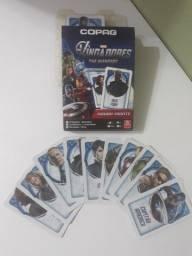 Jogo de cartas Rouba Monte Vingadores