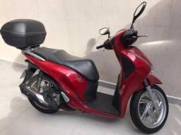 Moto Honda SH 150i 2018/2018 com Baú