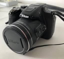 Câmera digital Nikon semiprofissonal COOLPIX P610