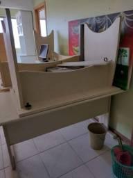cadeiras,  poltronas presidente, escrivaninhas,  armários para escritorio