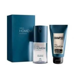 Kit Deo corporal Homem + Shampoo Homem Essence