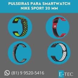 Pulseiras para Smartwatch 20MM e 22MM