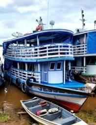 Barco Madeira Azul