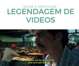 Legendagem de Vídeos em Inglês e Português
