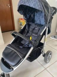 Carrinho Galzerano Apollo + bebê conforto Cocoon