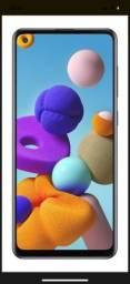 Samsung Galaxy A21s Dual SIM 64 GB preto 4 GB RAM