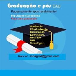 Graduação EAD sem pagar antecipado