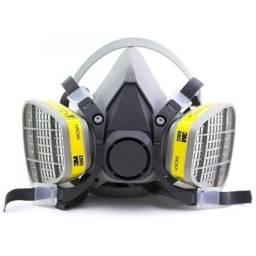 Máscara 3m respirador com filtros