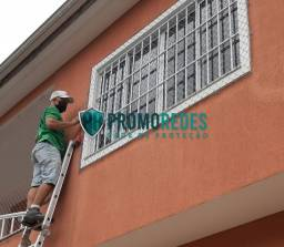 Rede mais proteção para varandas
