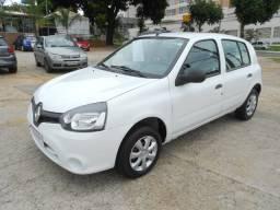 Renault clio expression 1.0 flex 2012/2013 com ar,direçao limpador traseiro file