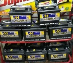 Bateria 60 Amperes semi nova de seguradora