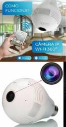 Lâmpada Câmera 360° graus Wifi